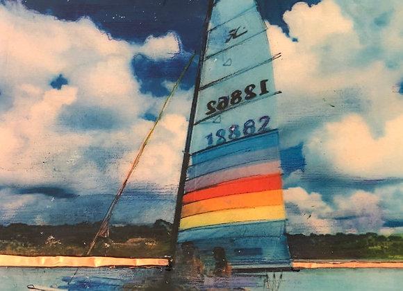 Hazy Sailing #7