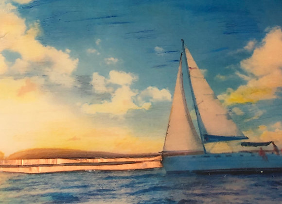 Hazy Sailing #10