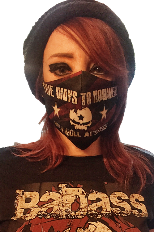 """Rock N Roll Addicted"" Mask"