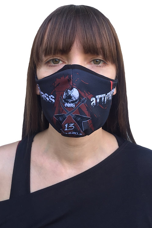 """Badass Attitude"" Mask"