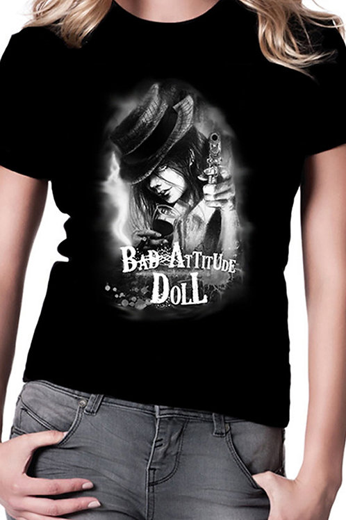 """Bad Attitude Doll"" T-Shirt"