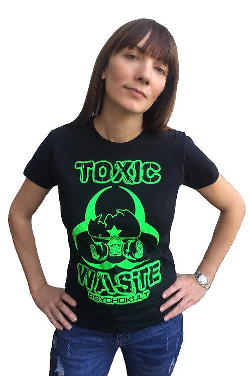 """""""Toxic Waste"""" Ladies T-Shirt"""