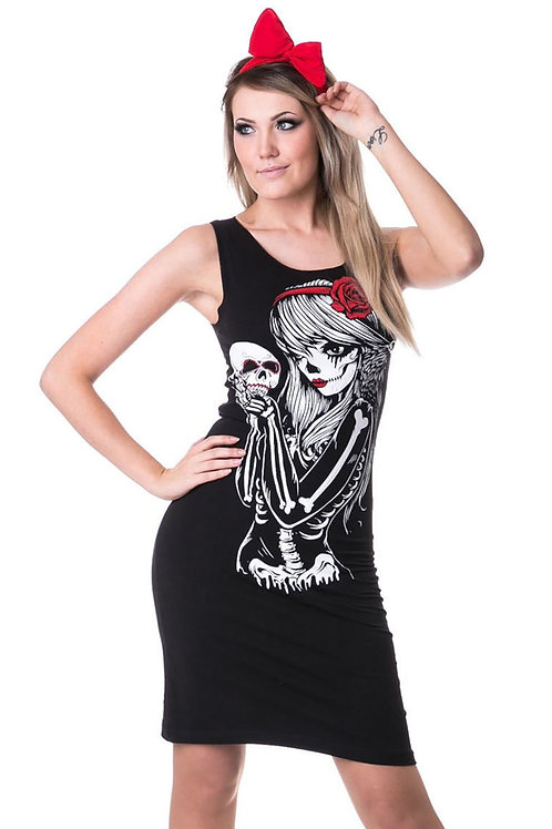 """Crow Girl"" Slasher Dress"