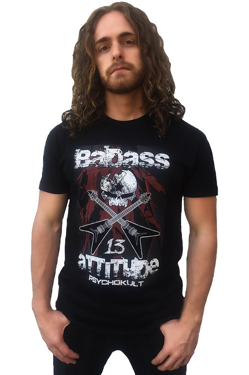 """Badass Attitude"" Gents T-Shirt"
