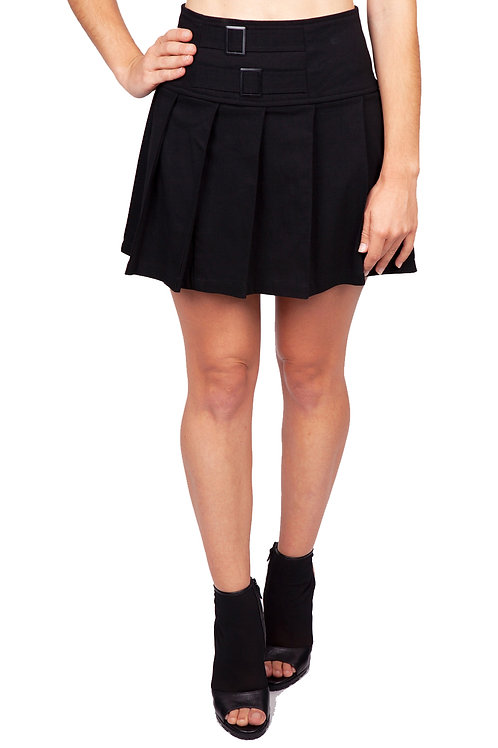 """Strapped in"" Mini Skirt"