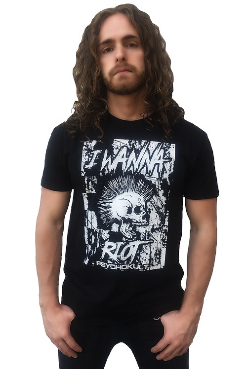 """I Wanna Riot"" Gents T-Shirt"