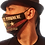 "Thumbnail: ""Rock N Roll Addicted"" Mask"