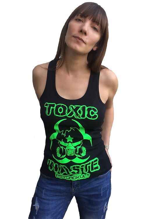 """""""Toxic Waste"""" Ladies Tank Top"""
