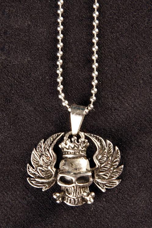 """""""King Skull"""" Stainless steel pendant"""