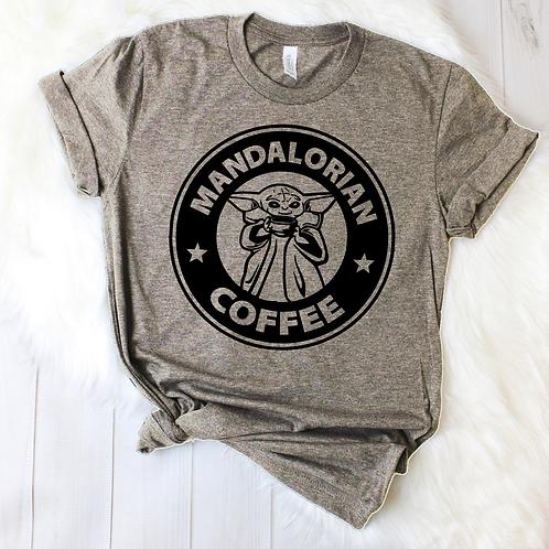 Mandalorian Coffee T-shirt