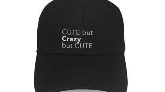 Cute But Crazy Cute Black Hat
