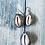 Thumbnail: Purple Back Shell Pendant and Earrings