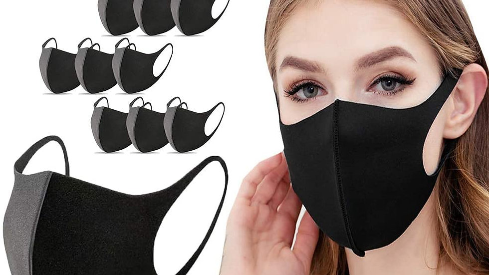 Face Cover Washable Reusable 10pk