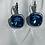 Thumbnail: Monet 925 Vintage Earrings