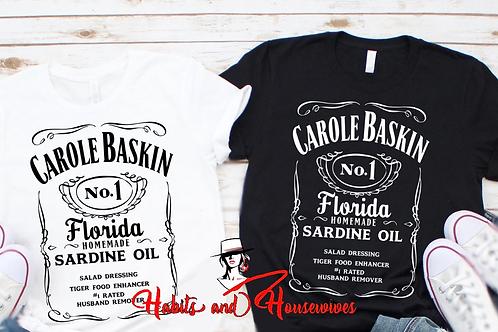 Carol Baskin White NO.1  White T-shirt