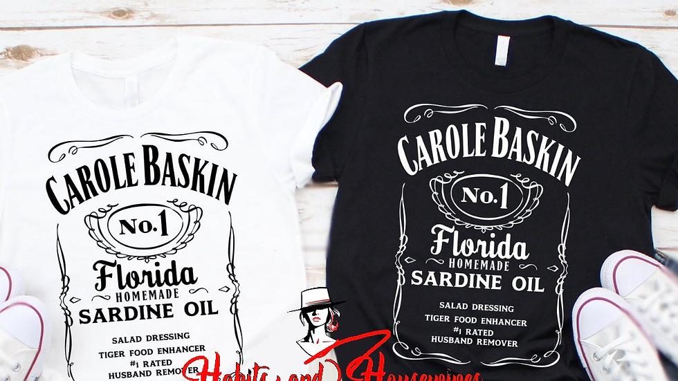 Carol Baskin White NO.1 T-shirt