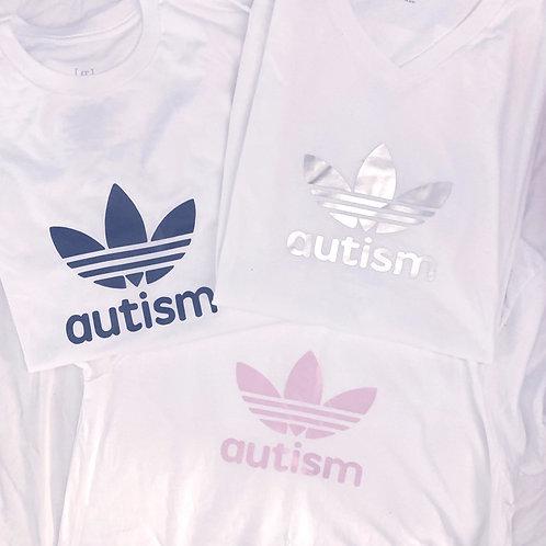 Autism Acceptance Adidas Design T-Shirt