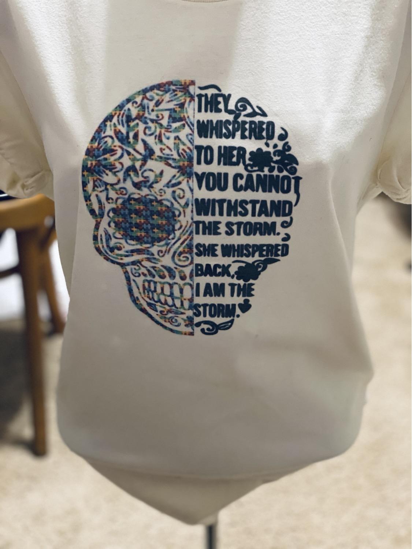 I Am The Storm Autism  Acceptance T-shirt