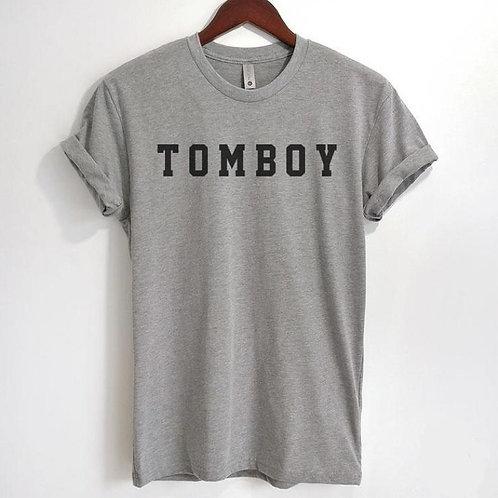 TOMBOY Fun Unique Statement T-Shirt