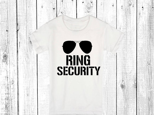 Ring Security Kids T-shirt