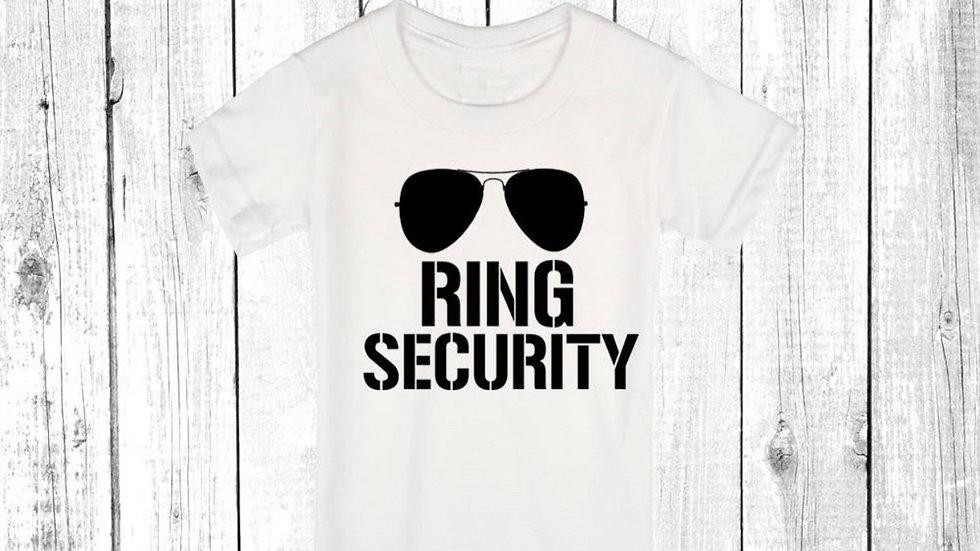 Ring Security Kids T-shirt