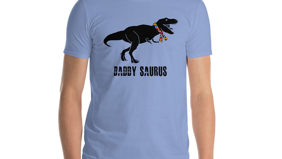 Autism Acceptance Awareness Dinosaur T-Shirt's