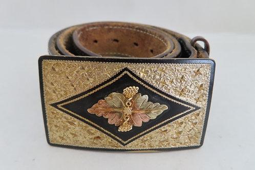 Black Hills Gold 10k Belt Buckle