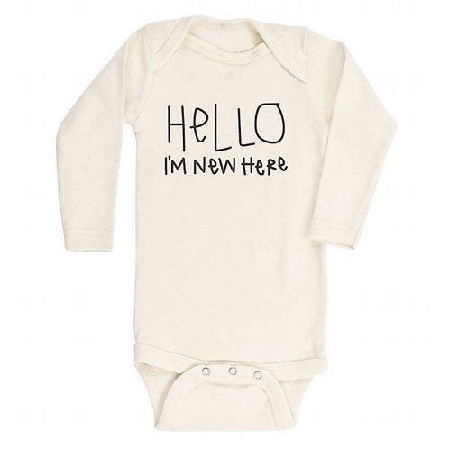 "Personalized Baby or Kids""Hello I'm New Here"" Onesie / Kid's Tee -I'mNew Here"