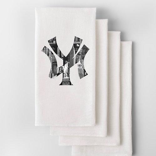 NY City Skyline Hand Towel