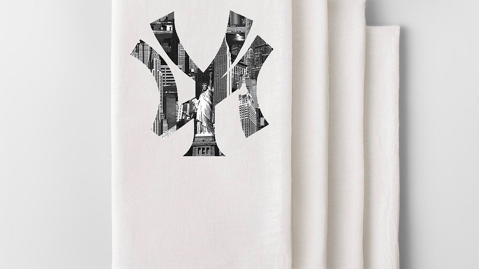 NY City Skyline Hand Towel