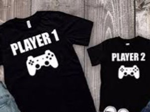 Player 1 Player 2  T-shirts