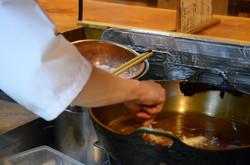 Frire les tempura, tout un art...