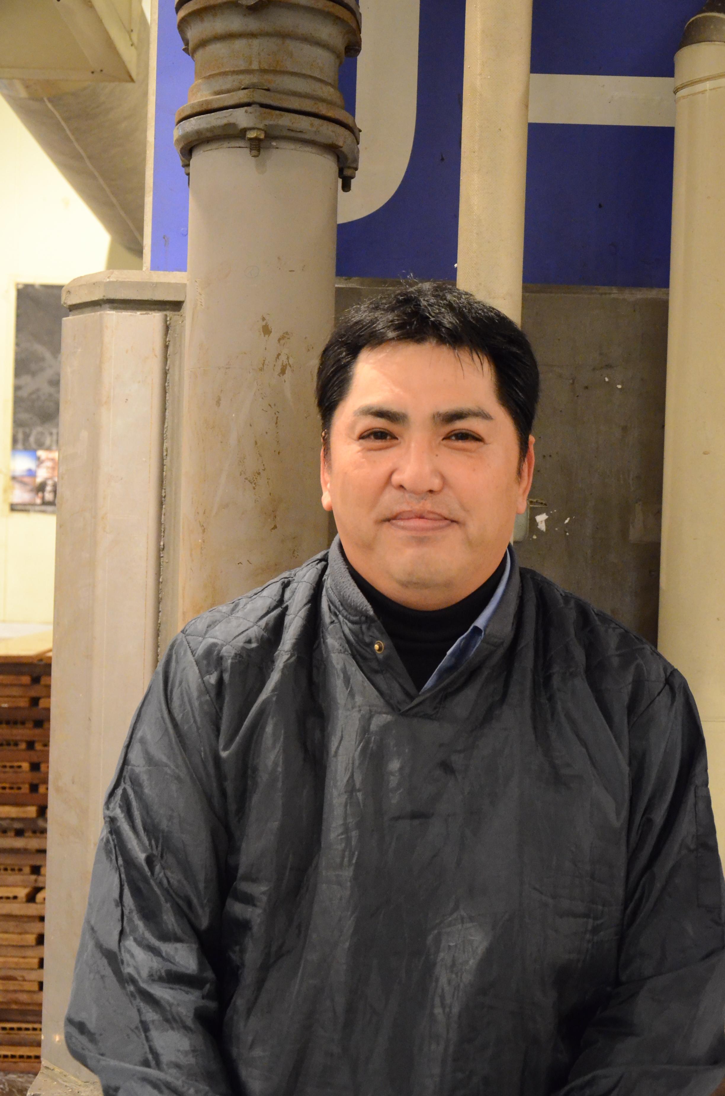 Hamano san, crieur depuis 22 ans