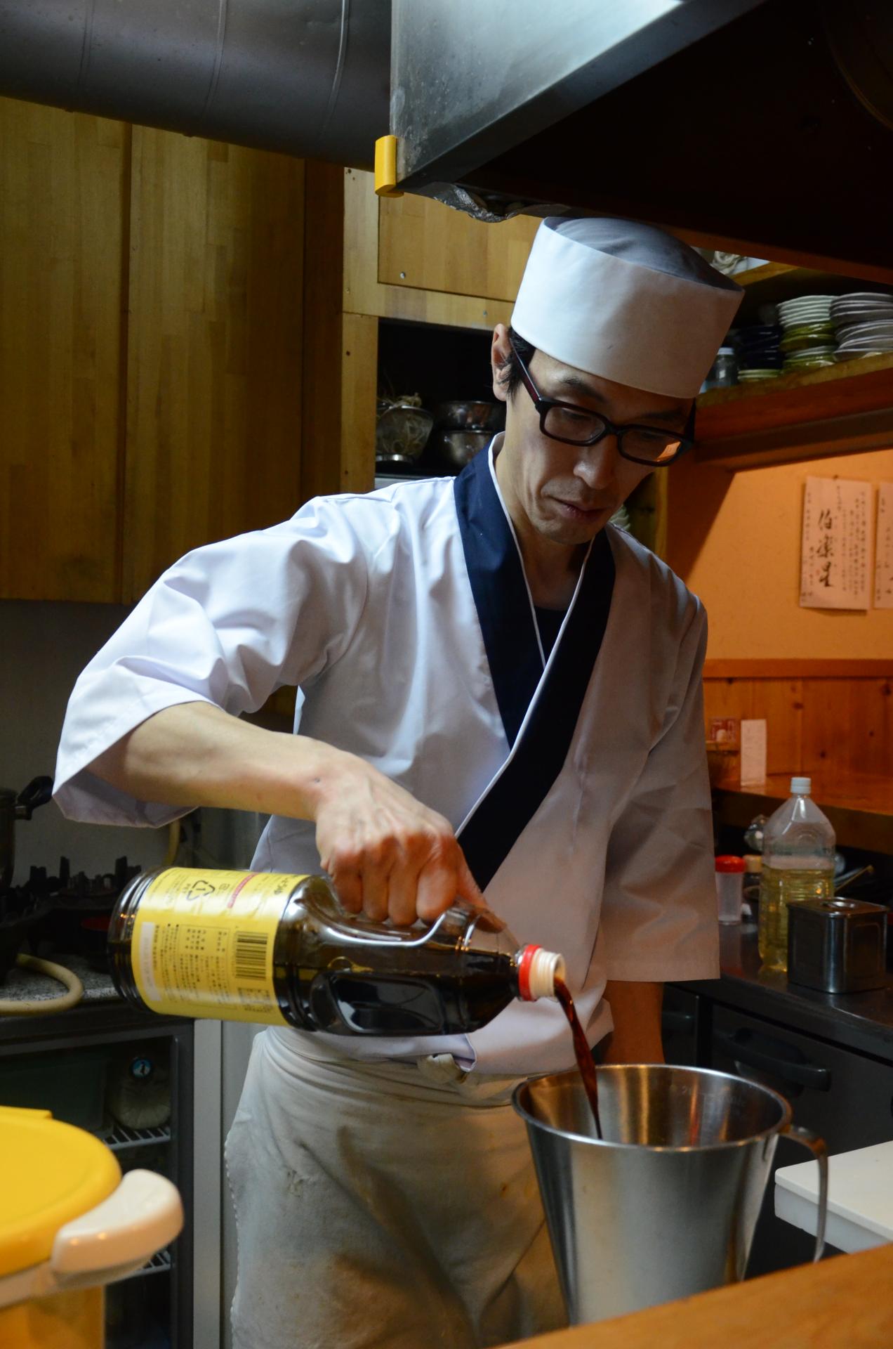 Préparation du bouillon