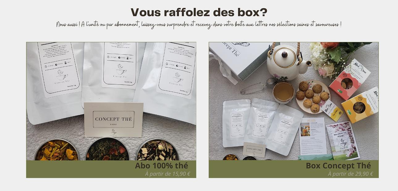 Coffret cadeau, box gourmande
