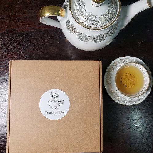 La box 100% thé de Mars