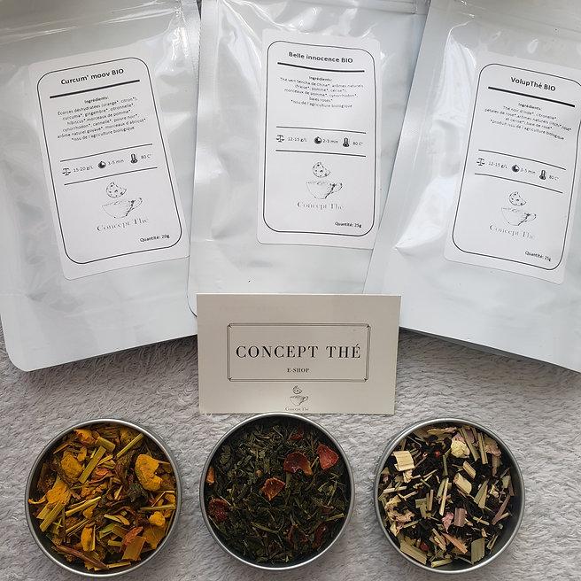 Des thés et des infusions bio