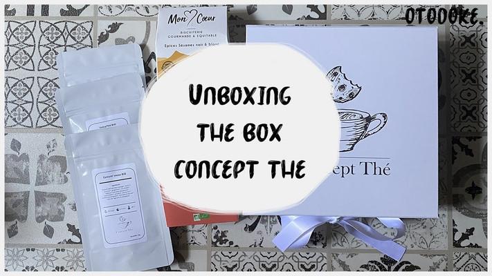 Unboxing box concept thé mars par otodoke