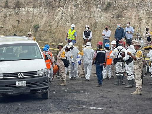 Rescataron los últimos tres cuerpos de los mineros atrapados en Múzquiz, Coahuila