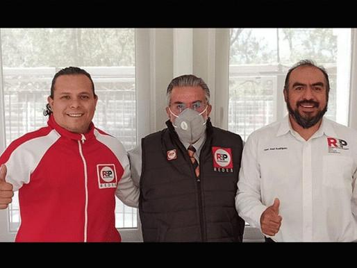 Francisco de Souza reforzará a RSP en la alcaldía Cuajimalpa