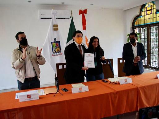 Samuel García asegura que Nuevo León se pintará de naranja