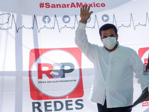 Voy a luchar para etiquetar recursos al sector de salud en el país: Enrique Guerrero