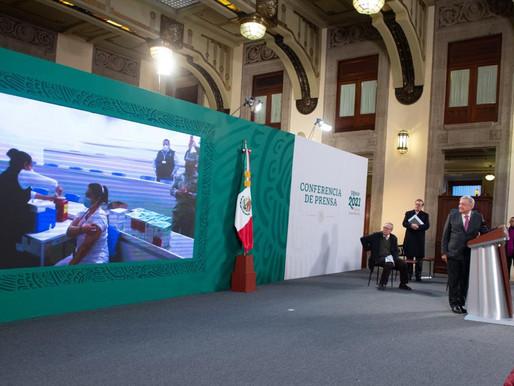 Inicia vacunación masiva en México: AMLO