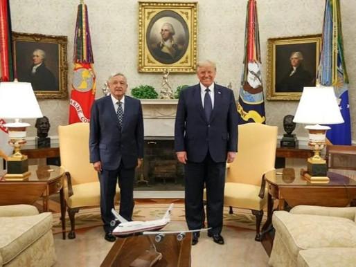 Gran caballero y amigo mío: Trump se empresa así de AMLO