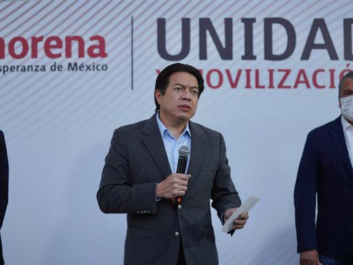 Morena define a candidatos a gubernaturas de Guerrero, Michoacán y Sinaloa