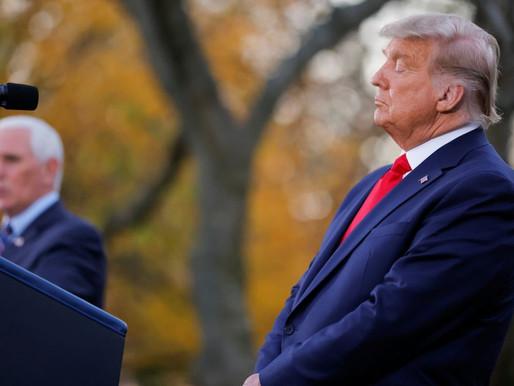 Trump critica al vicepresidente Mike Pence por certificar triunfo de Biden