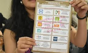 ¿Cuántas boletas necesitas para votar?
