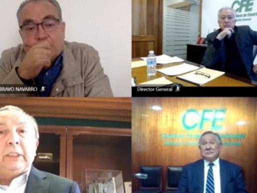 Acepta CFE que presentó documento falso sobre apagón