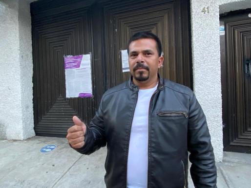 Enrique Guerrero buscará, desde San Lazaro, trabajar por mejorar la distribución del agua