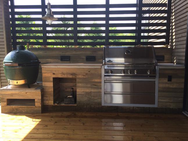custom barbecue zone